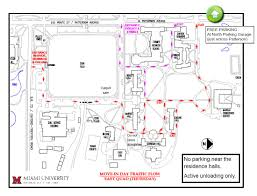 Osu Parking Map First Year Move In Residence Life Student Life Miami University