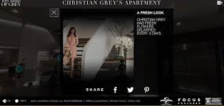 Christian Grey Apartment Something Short And Snappy 50 Shades Of Movie Promotion