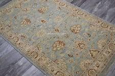 Blue Wool Rug Pakistani Runner Rugs Ebay