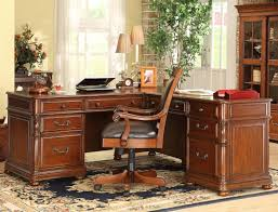 Riverside Home Office Furniture Riverside Furniture Bristol Court Caster Equipped Wooden Desk
