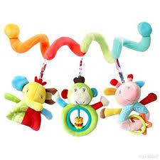 siege jeux gazechimp rattles de bébé voiture siège jeux jouet hanging