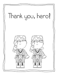 veterans day thank you coloring page getcoloringpages com