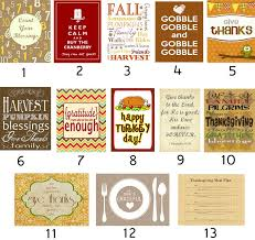 127 best diy thanksgiving free printables decor recipes images on