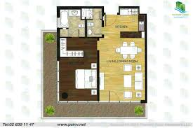 floor plan of al rayyana 1 bedroom type 1a
