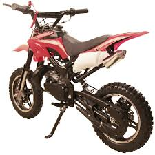 49cc 50cc high performance black 2 stroke gas motorized mini dirt
