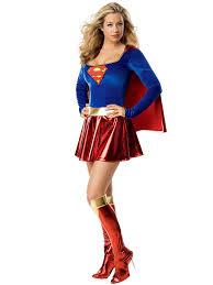 Lighting Mcqueen Halloween Costume by Women U0027s Supergirl Costume Superheroes Halloween Costumes