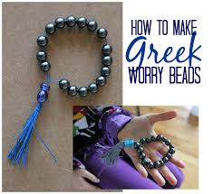 marie u0027s pastiche greece activity making greek worry beads