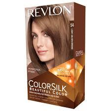 light golden brown hair color chart colorsilk permanent color light golden brown 54 1 application