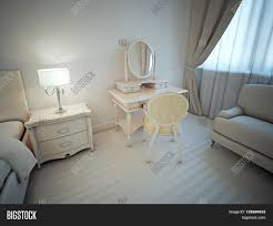 bright master bedroom idea neoclassical interior of room with