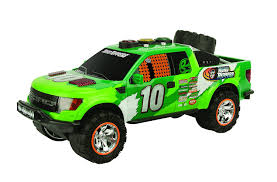 Ford Raptor Green - amazon com toy state road rippers come back racers ford f150