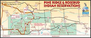 Sturgis Michigan Map by Pine Ridge Map Black Hills U0026 Badlands South Dakota