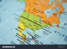 The Map Of United States Of America by Map Usa Canada Stock Photo 3158514 Shutterstock