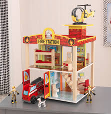 Firehouse Floor Plans by Kidkraft Fire Station Set Walmart Com
