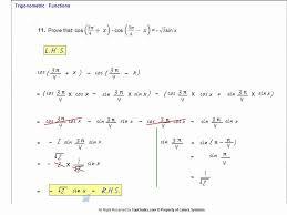 class xl mathematics trigonometric function exercise 3 3