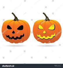 Halloween Vector Images Pumpkin Halloween Vector Illustration Stock Vector 120685021