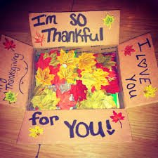 happy thanksgiving care package creative ideas