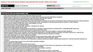 dump truck driver description resume 28 images truck driver