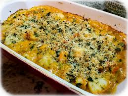 seafood gratin for a special dinner bewitching kitchen