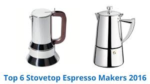 italian espresso maker 6 best stovetop espresso makers 2016 youtube