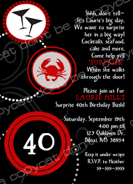 40th birthday party invitation wording pool party invitations