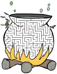 free halloween clipart witch cauldron printable witch u0027s cauldron halloween maze