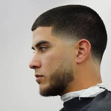 blowout hairstyles for black men a line in the side temple fade haircuts