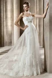 wedding dress overlay buy cheap strapless vintage empire lace bridal wedding dress with