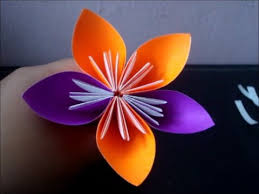 cara membuat origami kusudama make an origami kusudama flower youtube