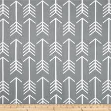 Exclusive Curtain Fabrics Designs Premier Prints Arrow Cool Grey Discount Designer Fabric Fabric