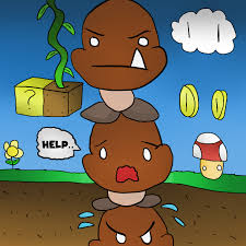 goomba tower thegamingdrawer deviantart