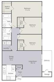 2 u0026 3 bedroom townhomes and 1 u0026 3 bedroom apartments in