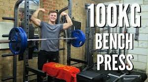bench press 100kg 100kg