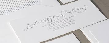 Wedding Stationery Josephine Wedding Invitation Design By Deciduous Press