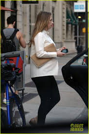 chelsea clinton engagement ring chelsea clinton displays her large baby bump while out with hubby