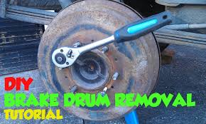 rear brake drum removal tutorial toyota hilux surf mk3 youtube