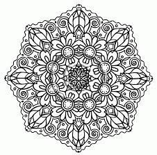 flower coloring pages advanced coloring home