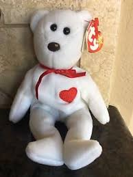 ty valentino ty valentino beanie baby with errors misspelled tag no