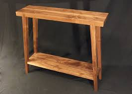 Hallway Table Designs Inspirations Contemporary Table With Contemporary Walnut