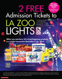 Zoo Lights Discount Tickets La Zoo Tickets Spotify Coupon Code Free
