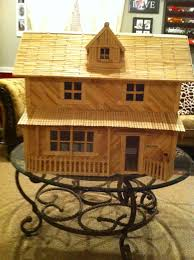 popsicle stick house home ideas pinterest popsicle stick