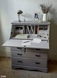 Shabby Chic Writing Desk by Beautiful Vintage Shabby Chic Painted Oak Desk Bureau F U0026b