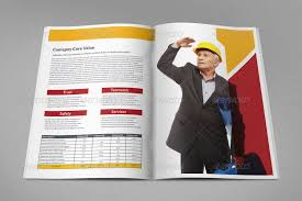 construction industry brochure template vol 2 by owpictures
