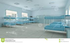 3d room 3d bedroom youth hostel dorm room stock photos image 20998393