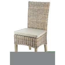 chaise rotin conforama chaise salle a manger en rotin coloris taupe dim l 48 x p 57