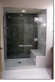 shower with seat my old house had this it doesn u0027t get much
