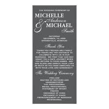 Simple Wedding Program Templates 176 Best Wedding Program Card Images On Pinterest Wedding