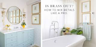 is it ok to mix stainless and white appliances is brass out how to mix metals like a pro colour trends