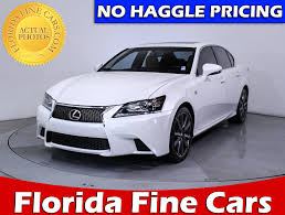 lexus gs 350 sport price used 2013 lexus gs 350 f sport sedan for sale in hollywood fl