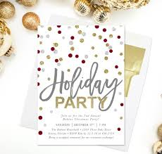 Christmas Party Invitations With Rsvp Cards - 54 best holiday invitations u0026 cards images on pinterest