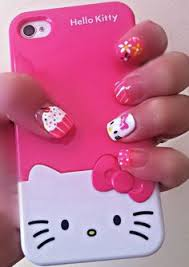 5 hello kitty nail designs i like most young craze hair stuff